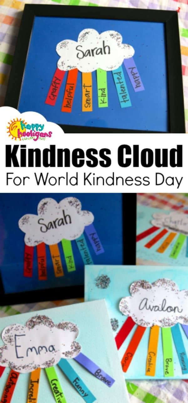 "Framed ""Kindness Cloud"" Craft for World Kindness Day ..."